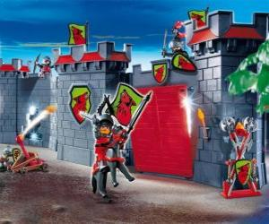 Puzle Playmobil hrad