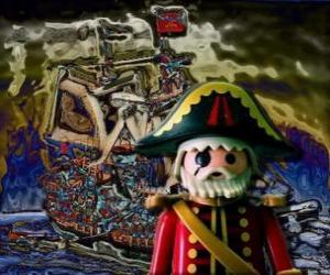 Puzle Playmobil Pirát