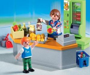 Puzle Playmobil shop
