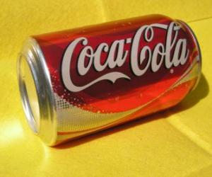 Puzle Plechovka Coca-Cola
