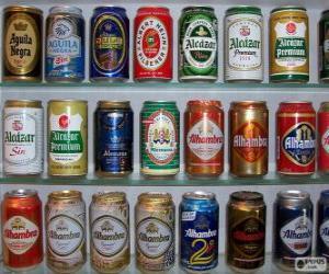 Puzle Plechovky od piva
