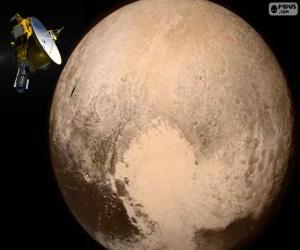Puzle Pluto a New Horizons