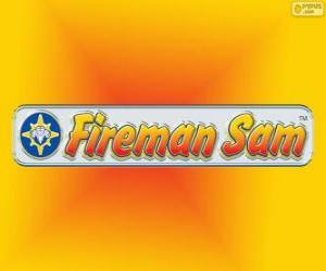Puzle Požárník Sam logo
