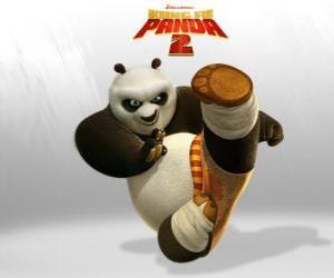 Puzle Po je hlavní protagonista dobrodružství z filmu Kung Fu Panda 2
