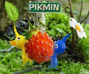 Puzle Podivné bytosti Pikmin