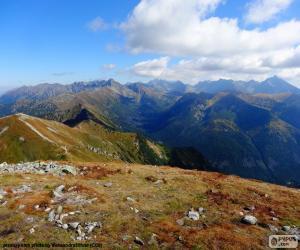Puzle Podzim ve vysokohorských