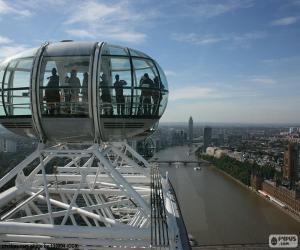 Puzle Pohled z londýnského oka