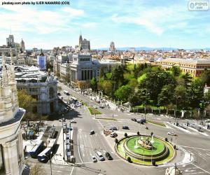 Puzle Pohled z Madridu, Alcalá-Gran Vía