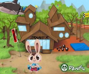 Puzle Pokopet Bugsy, králík, druh zvířat v zájmovém z Panfu