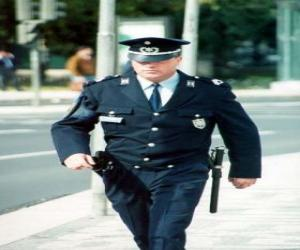 Puzle Policista nebo policie