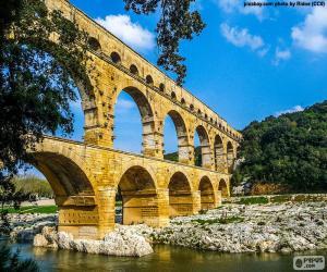 Puzle Pont du Gard, Francie