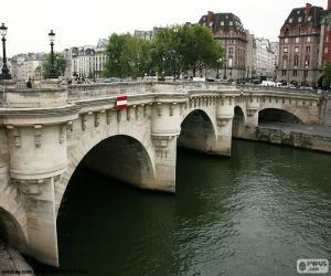 Puzle Pont Neuf, Paříž