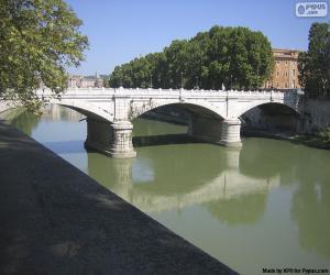 Puzle Ponte Giuseppe Mazzini, Řím