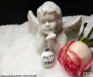 Puzle Porcelánový anděl