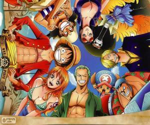 Puzle Postavy z One Piece