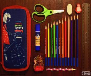 Puzle Pouzdro školní tužka