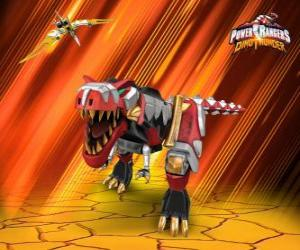 Puzle Power Rangers Dino Thunder
