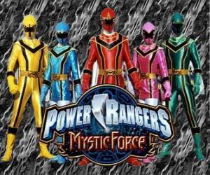 Puzle Power Rangers Mystic Force
