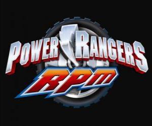 Puzle Power Rangers RPM Logo