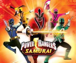 Puzle Power Rangers Samurai