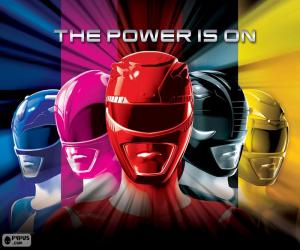 Puzle Power Rangers, The Power is on