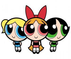 Puzle Powerpuff Girls