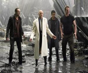 Puzle Průmyslové milionář Lex Luthor, který závist a nenávist smrt, hlavní darebák. On se stal prezidentem Spojených států.
