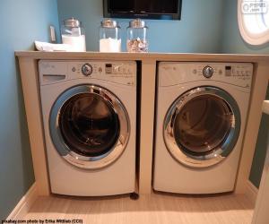 Puzle Pračka a sušička