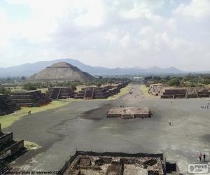 Puzle Pre-hispánské město Teotihuacán