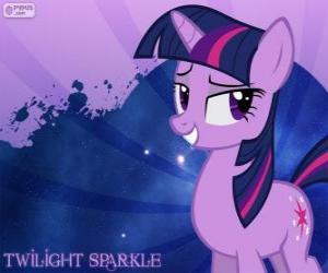Puzle Princess Twilight Sparkle je velmi chytrá