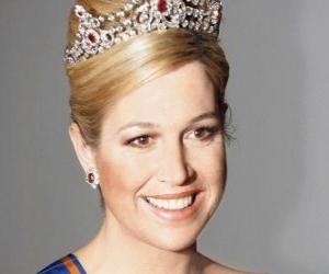Puzle Princezna Maxima Nizozemska