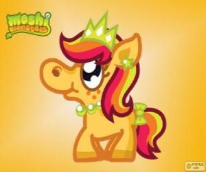 Puzle Priscilla. Moshi Monsters. Princezna Pony