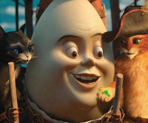 Puzle Protagonisté, Kocour v Botách, Humpty a Kitty