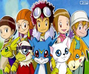 Puzle Protagonisté si Digimon