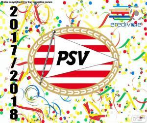 Puzle PSV Eindhoven, Eredivisie 2017-18
