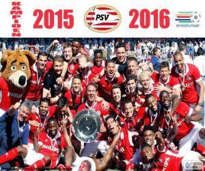 Puzle PSV Eindhoven, mistr 2015-2016