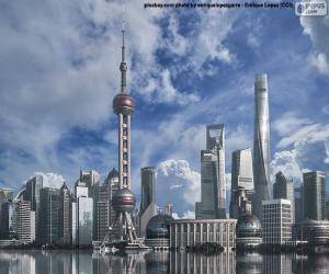 Puzle Pudong, Šanghaj