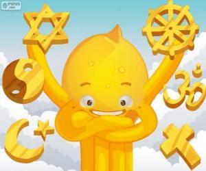 Puzle Pypus a náboženství