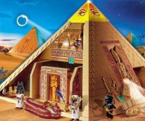 Puzle Pyramida Egypt Playmobil