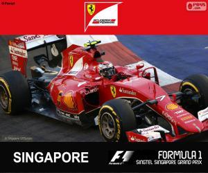 Puzle Räikkönen G.P Singapur 2015