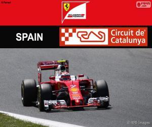 Puzle Räikkönen, Grand Prix Španělska 2016