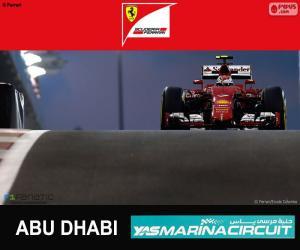 Puzle Räikkönen Grand Prix Abú Zabí 2015