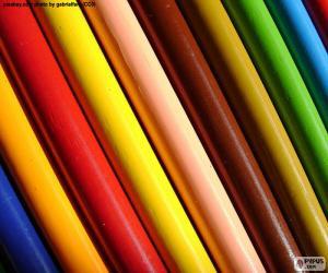Puzle Různé barvy