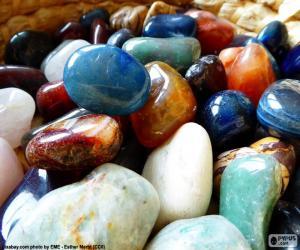 Puzle Různé minerály
