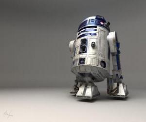 Puzle R2-D2, astromech droid (foneticky hláskoval Artoo-Deetoo nebo Artoo-Deetoo, tzv.