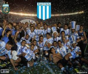 Puzle Racing Club de Avellaneda, mistr Torneo de Transición 2014 v Argentině
