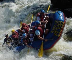 Puzle Rafting
