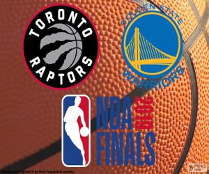 Puzle Raptors-Warriors, NBA finále 2019