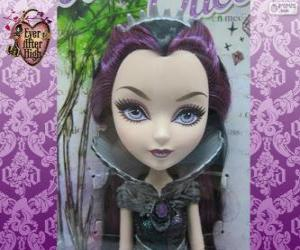 Puzle Raven Queen, vůdce Rebels v Ever After High