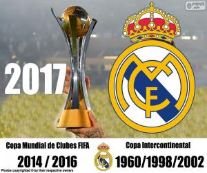 Puzle Real Madrid, 2017 FIFA Club World Cup